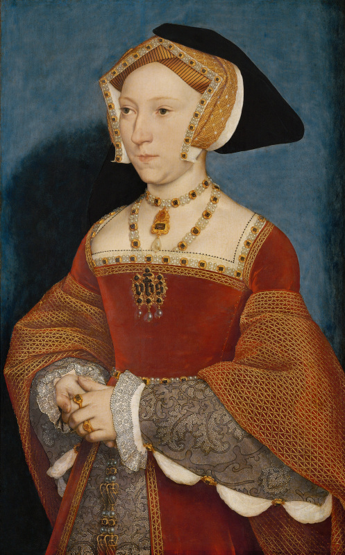 Hans Holbein the Younger. Portrait of Jane Seymour, Queen of England