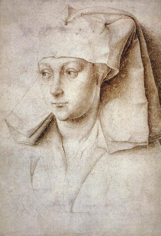 Рогир ван дер Вейден. Портрет неизвестной молодой женщины