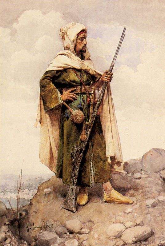 Арабский солдат