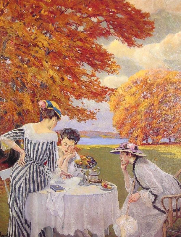 Эдвард Кукуэль. Чай в парке