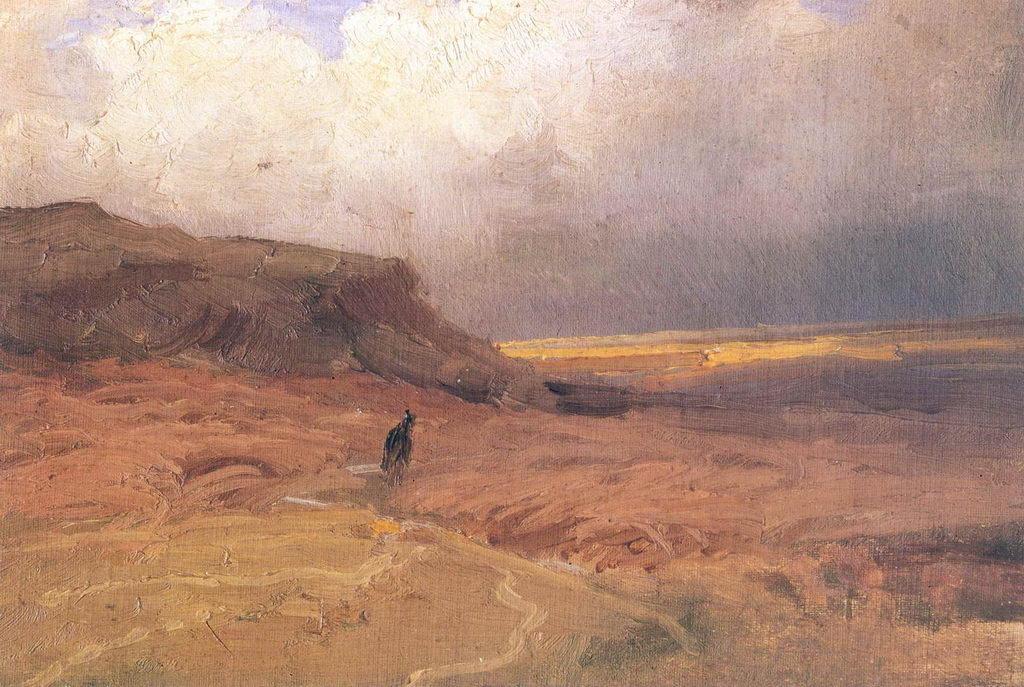 Фёдор Александрович Васильев. Тучи над холмами