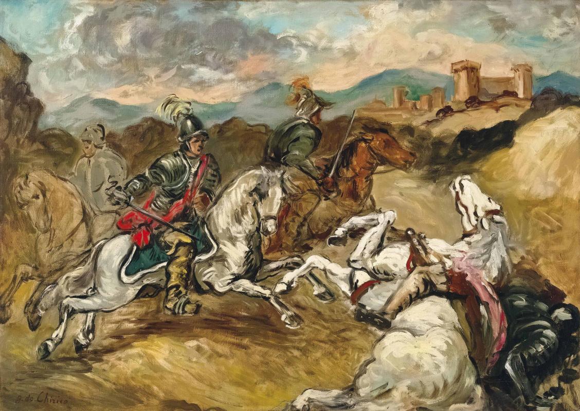 Giorgio de Chirico. Battle