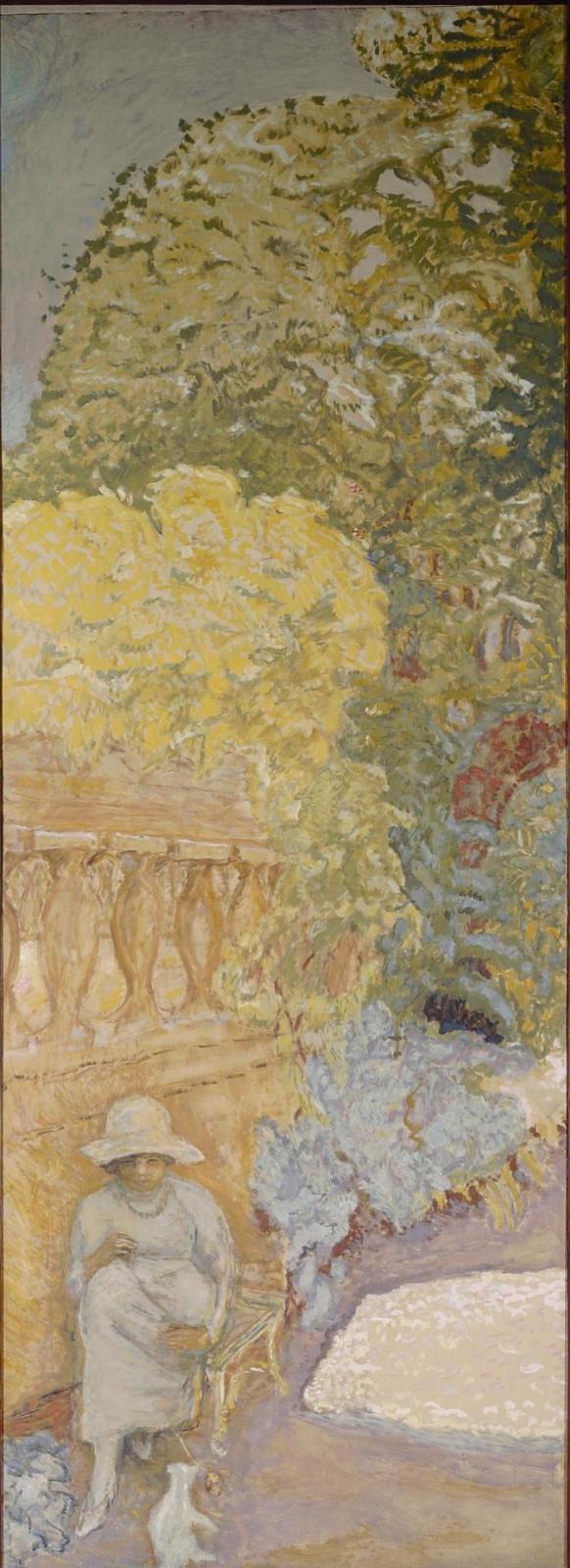 Пьер Боннар. У Средиземного моря (триптих). Левое панно