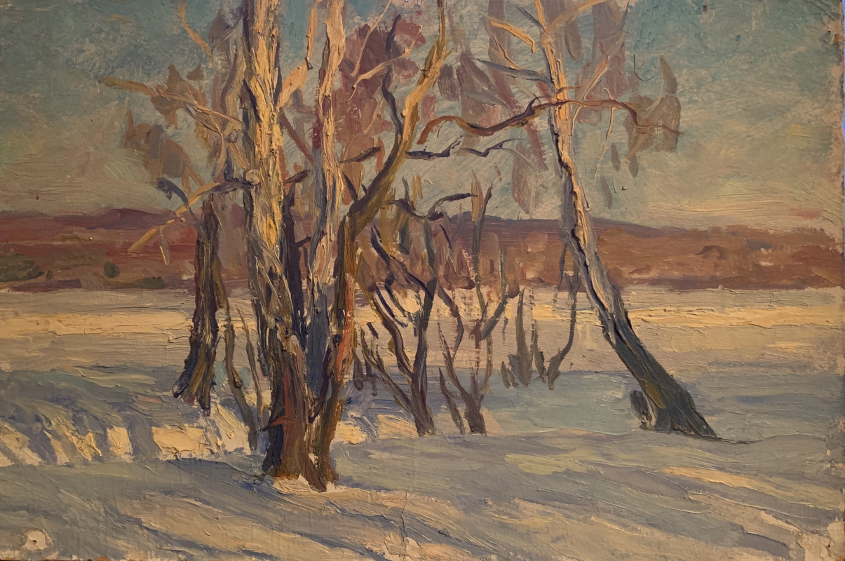 Oleg Alekseevich Dmitriev. First snow