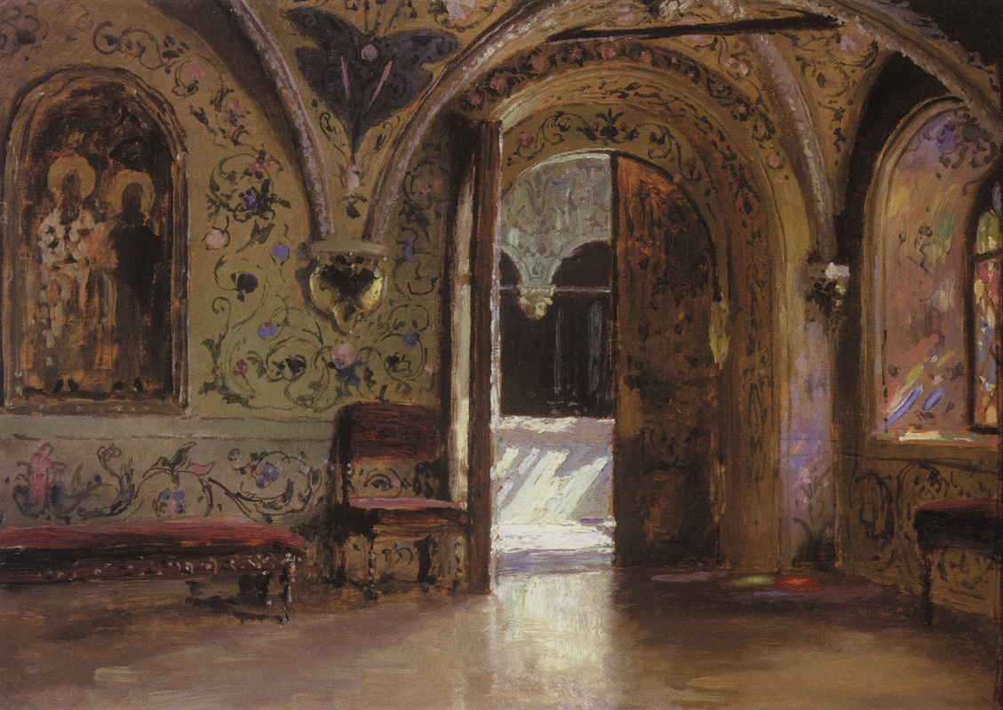 Vasily Dmitrievich Polenov. Terem Palace. Exit from the chambers to the Golden porch
