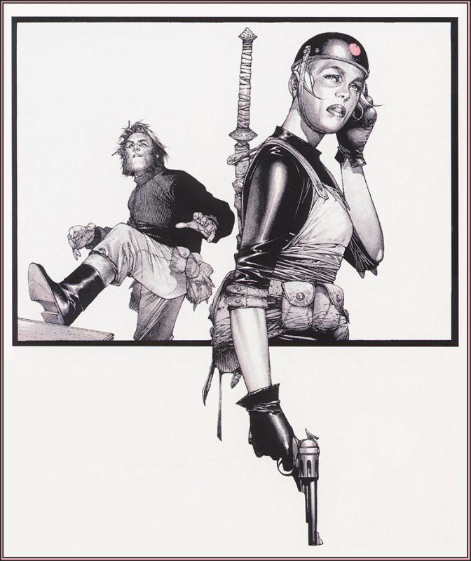 Трэвис Шаре. Пистолет