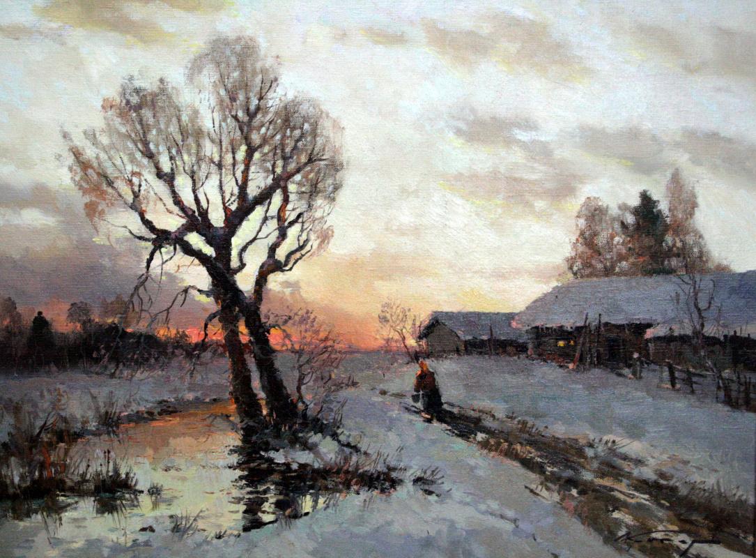 Alexander Markovich Kremer. By water