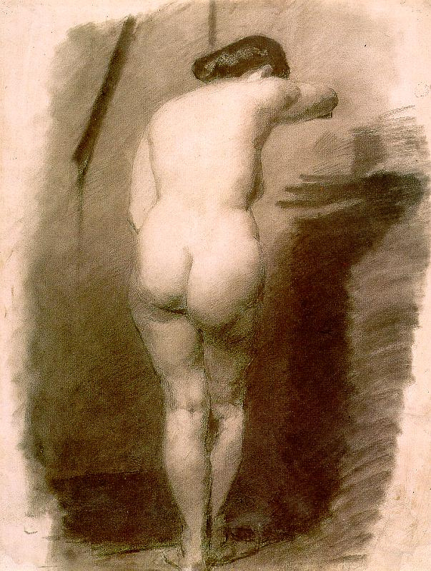 Thomas Eakins. Nude