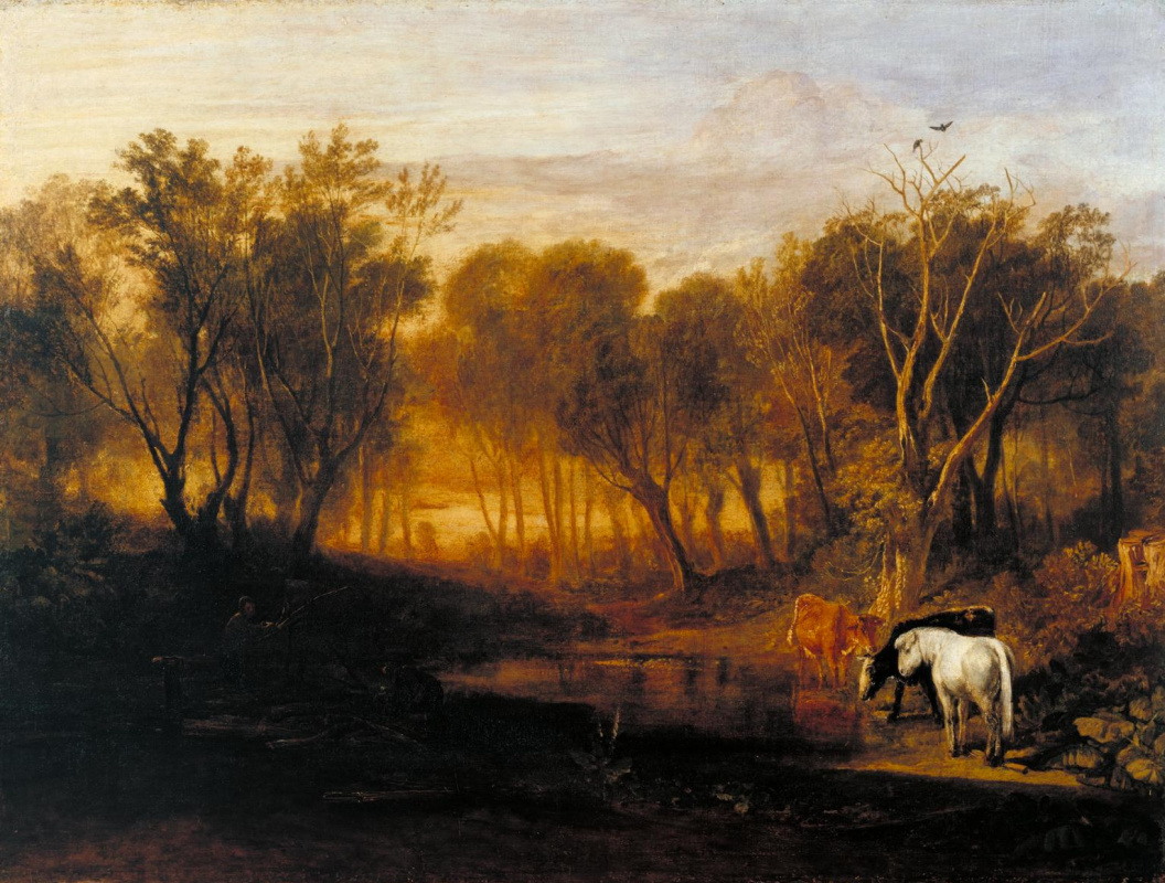 Джозеф Мэллорд Уильям Тёрнер. Лес в Бере