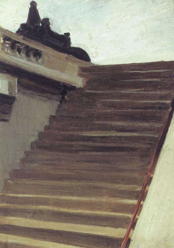 Эдвард Хоппер. Лестница в Париже