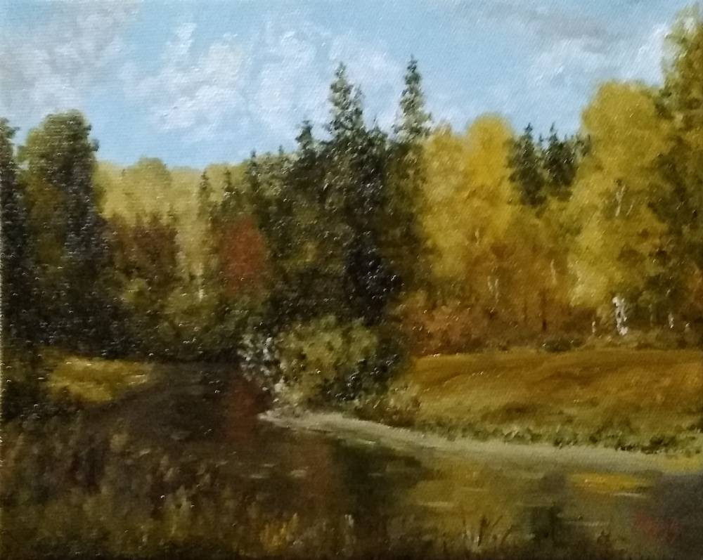 Сергей Николаевич Ходоренко-Затонский. Autumn landscape