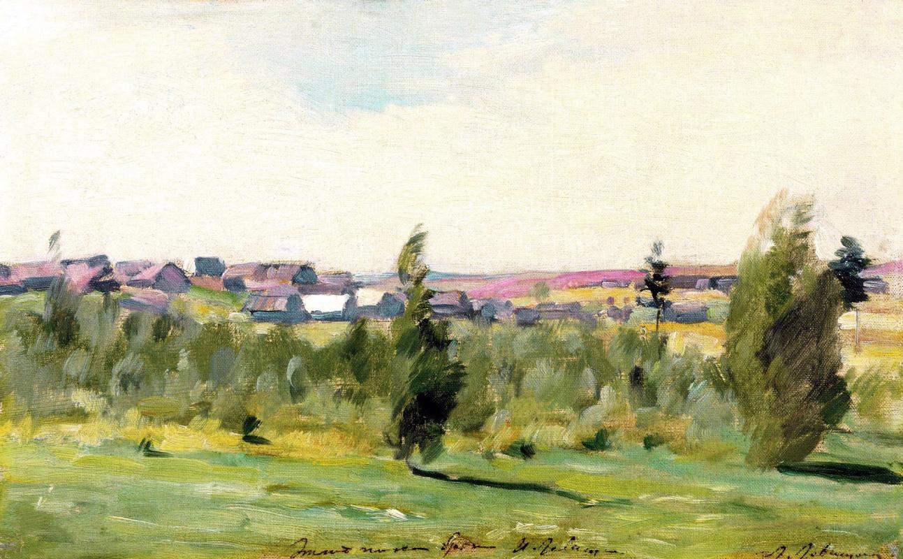 Исаак Ильич Левитан. Деревня