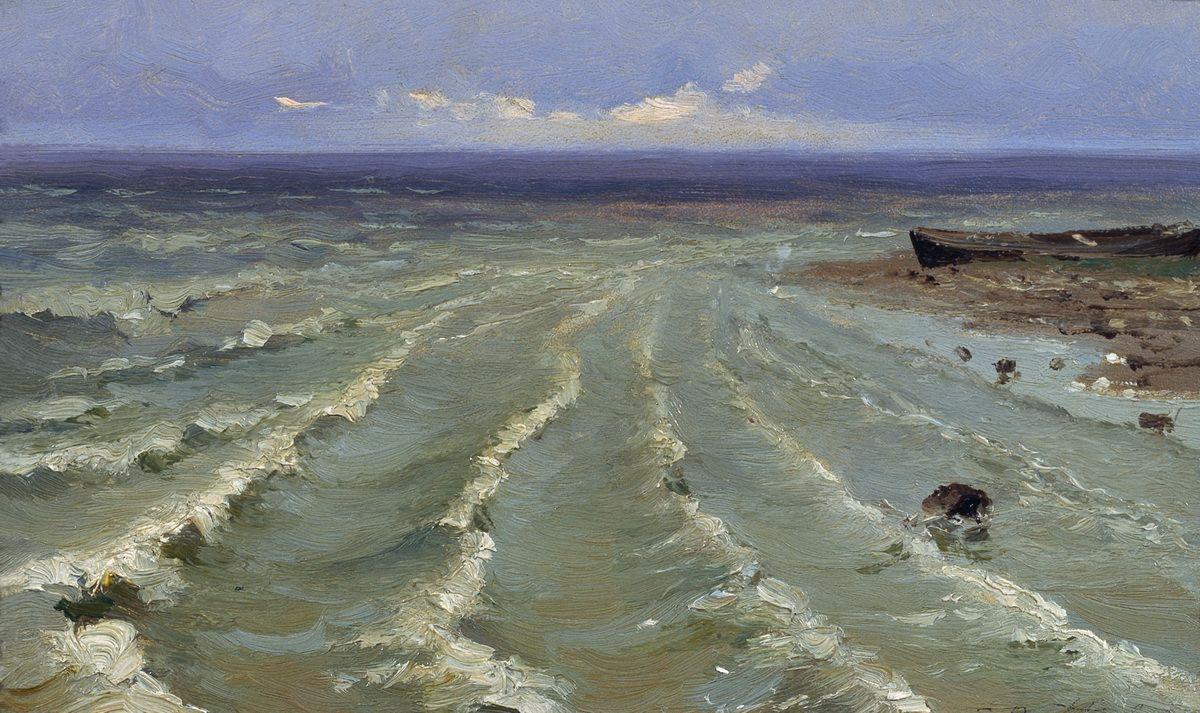 Efim Efimovich Volkov. Sea