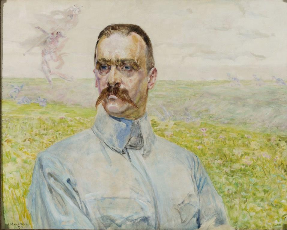 Jacek Malchevsky. Portrait of Brigadier Józef Piłsudski