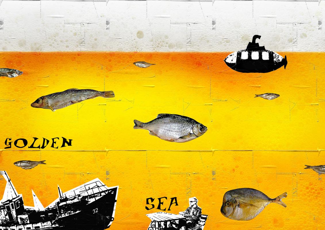 Random Human. The Golden Sea