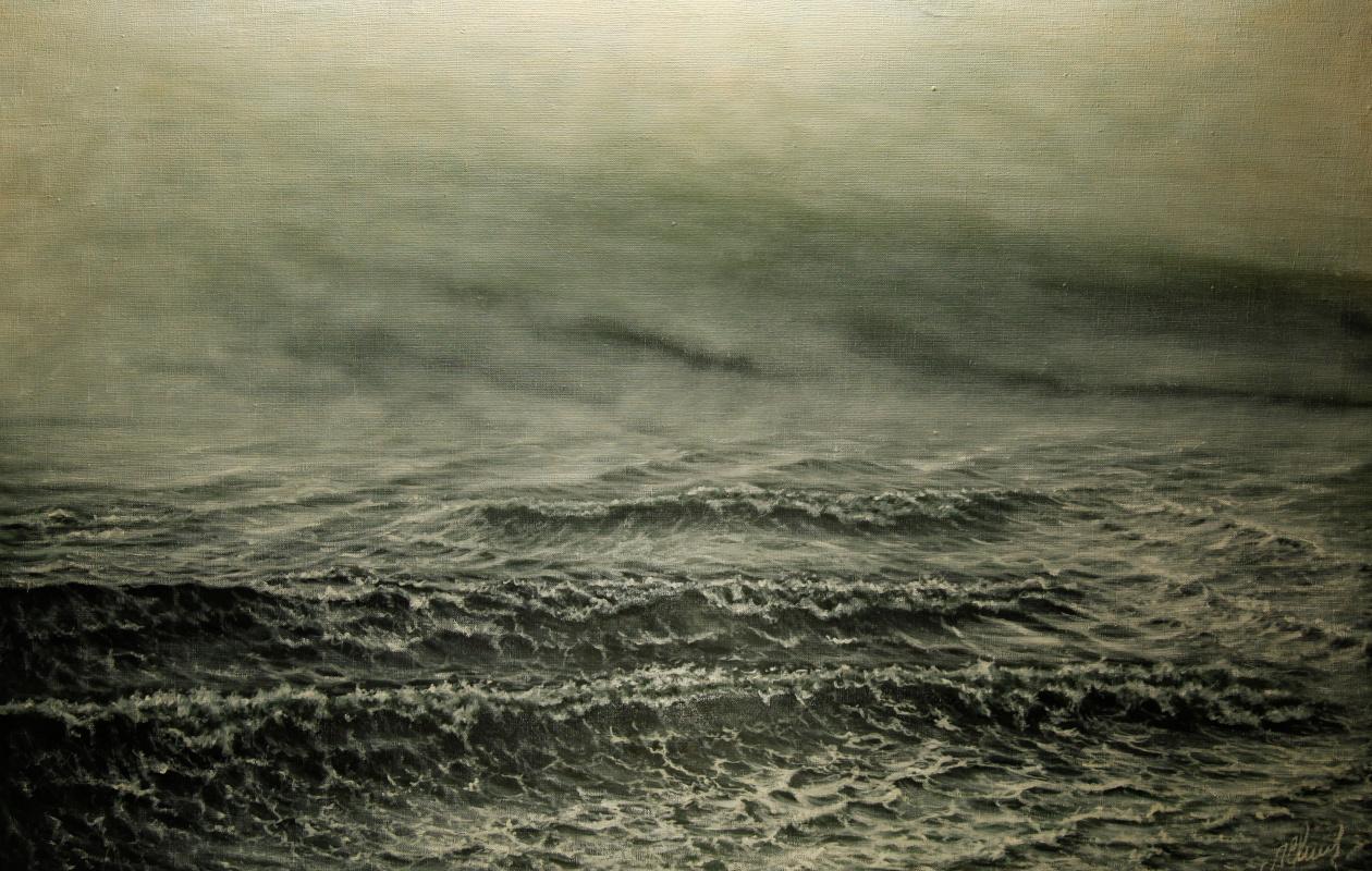 Valery Levchenko. No. 180 Mist over the sea