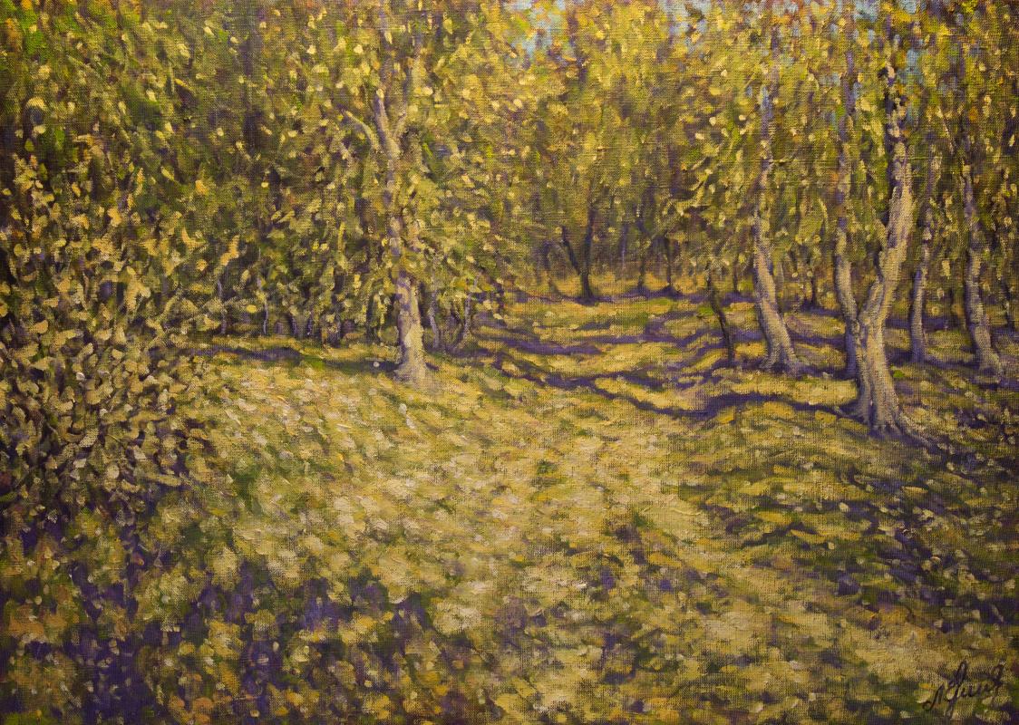 Valery Levchenko. № 439 In the forest of the Akhtuba floodplain