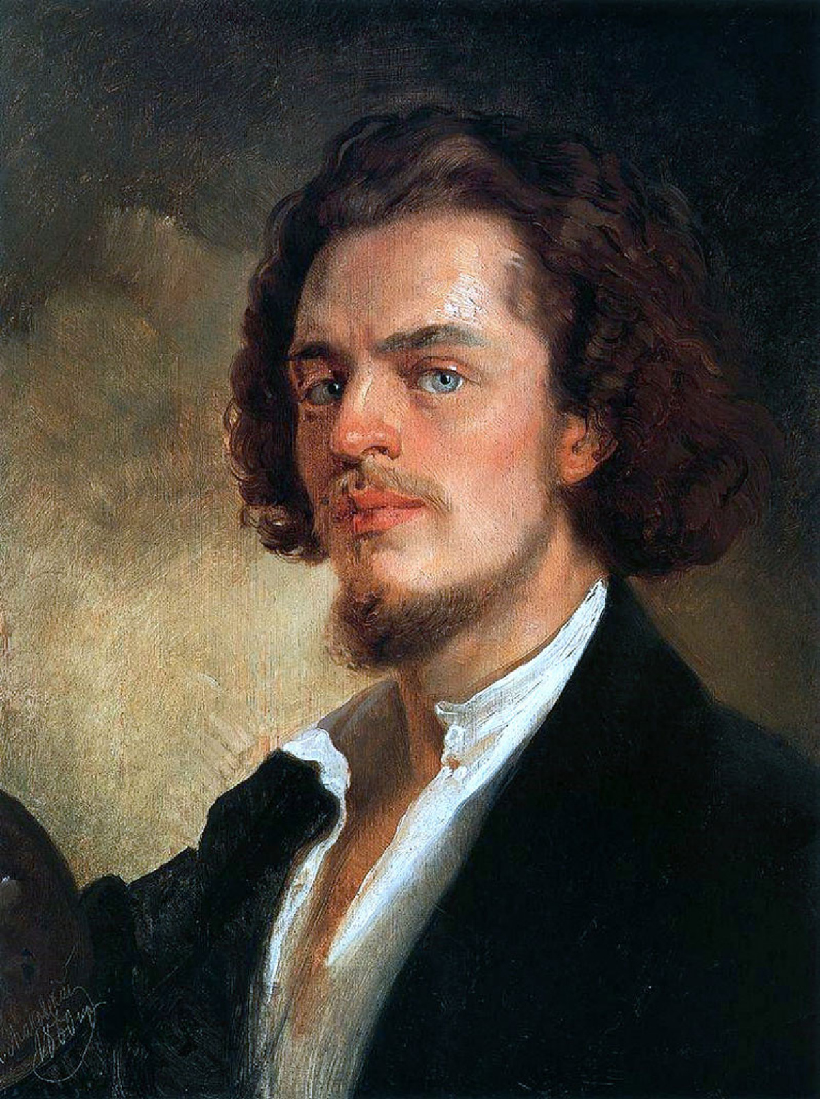 Константин Егорович Маковский. Автопортрет