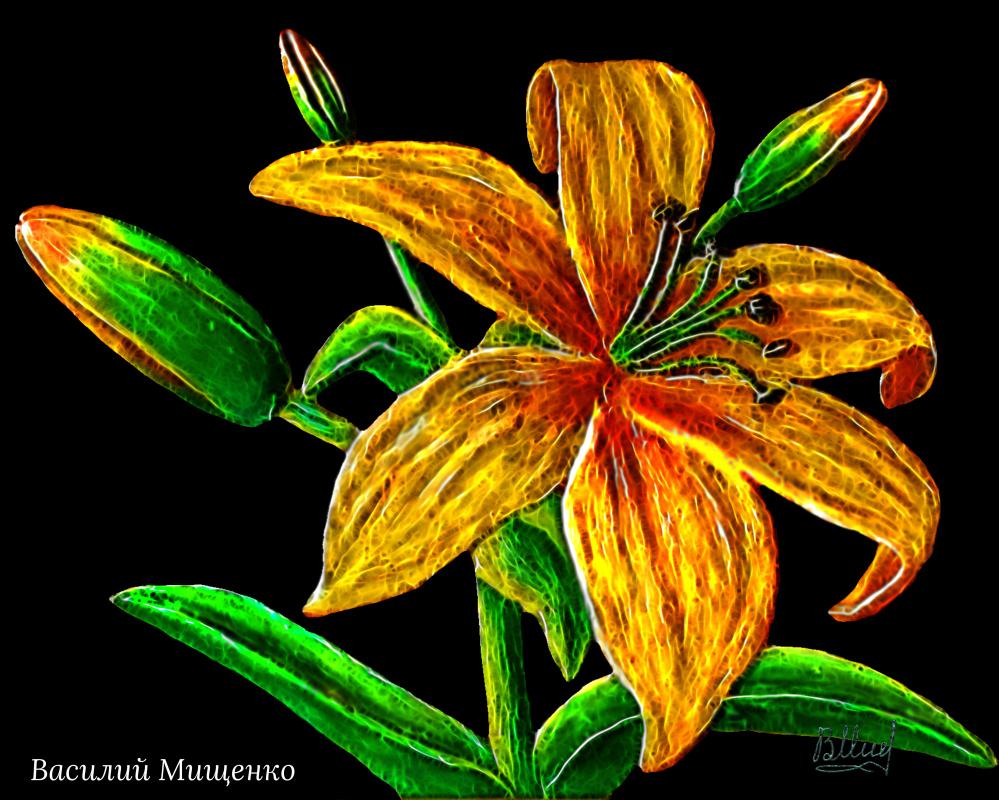 Vasiliy Mishchenko. Flowers 0115