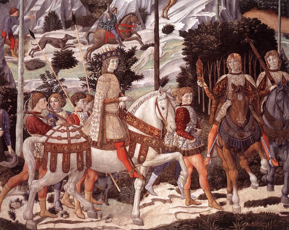 Беноццо Гоццоли. Сюжет 2
