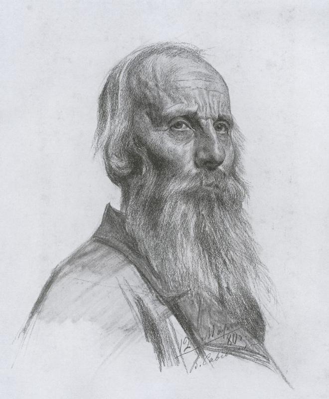 Василий Евгеньевич Савинский. Старик