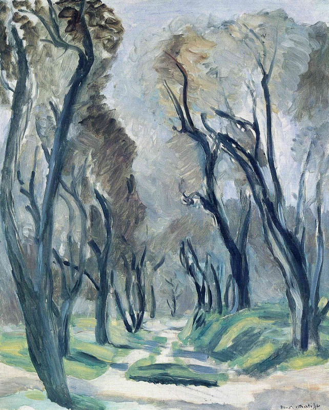 Анри Матисс. Аллея оливковых деревьев