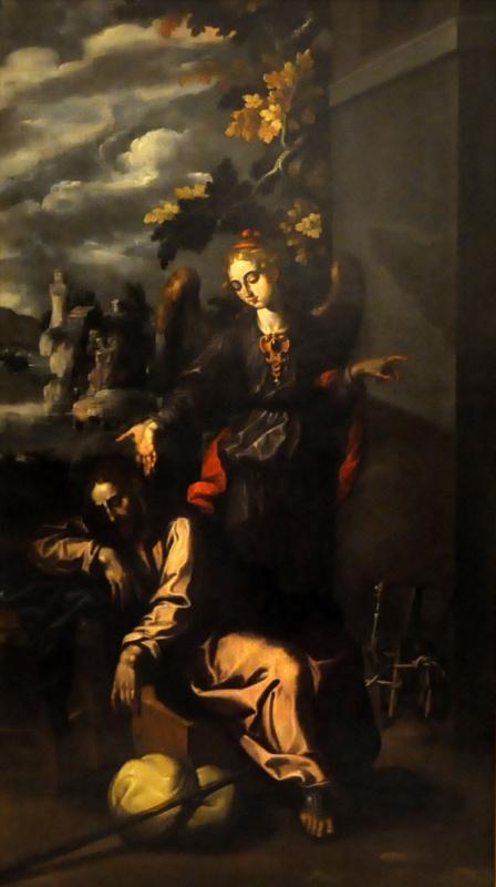 Francisco Pacheco del Rio. The dream of St. Joseph