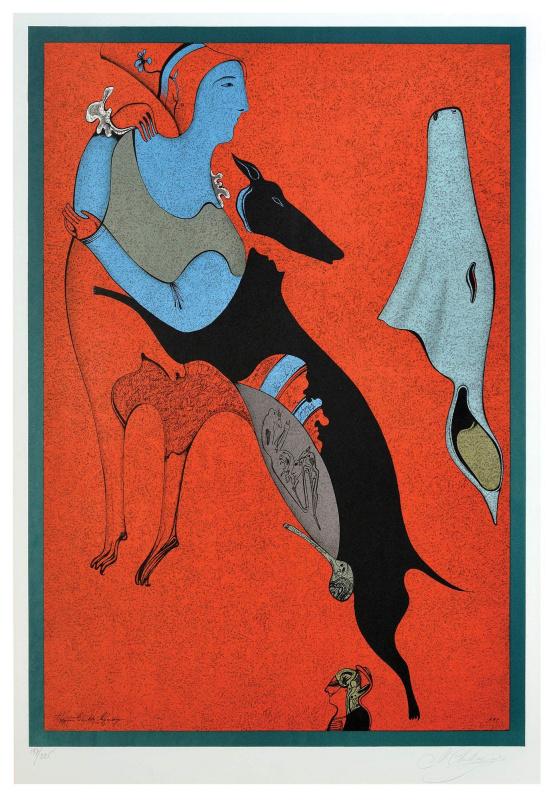Michael Shemyakin. The red centaur