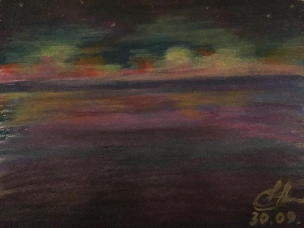 Elena Kokhno. Late Sunset