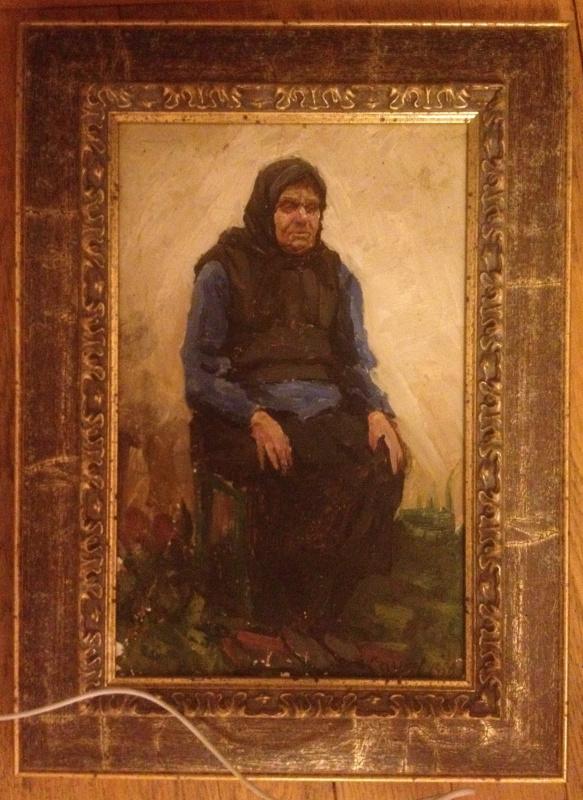 Николай Петрович Сочнев. Бабушка , к/м