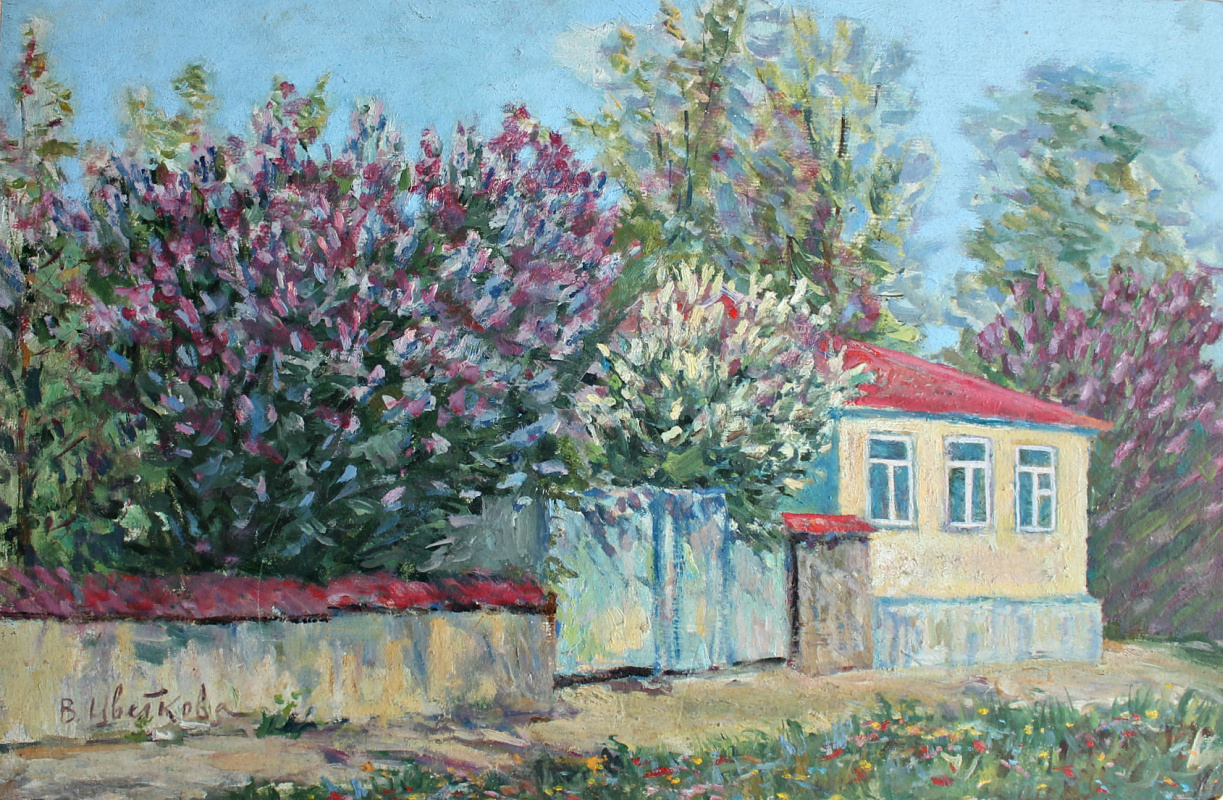 Valentina Petrovna Tsvetkova. Blooming Crimea