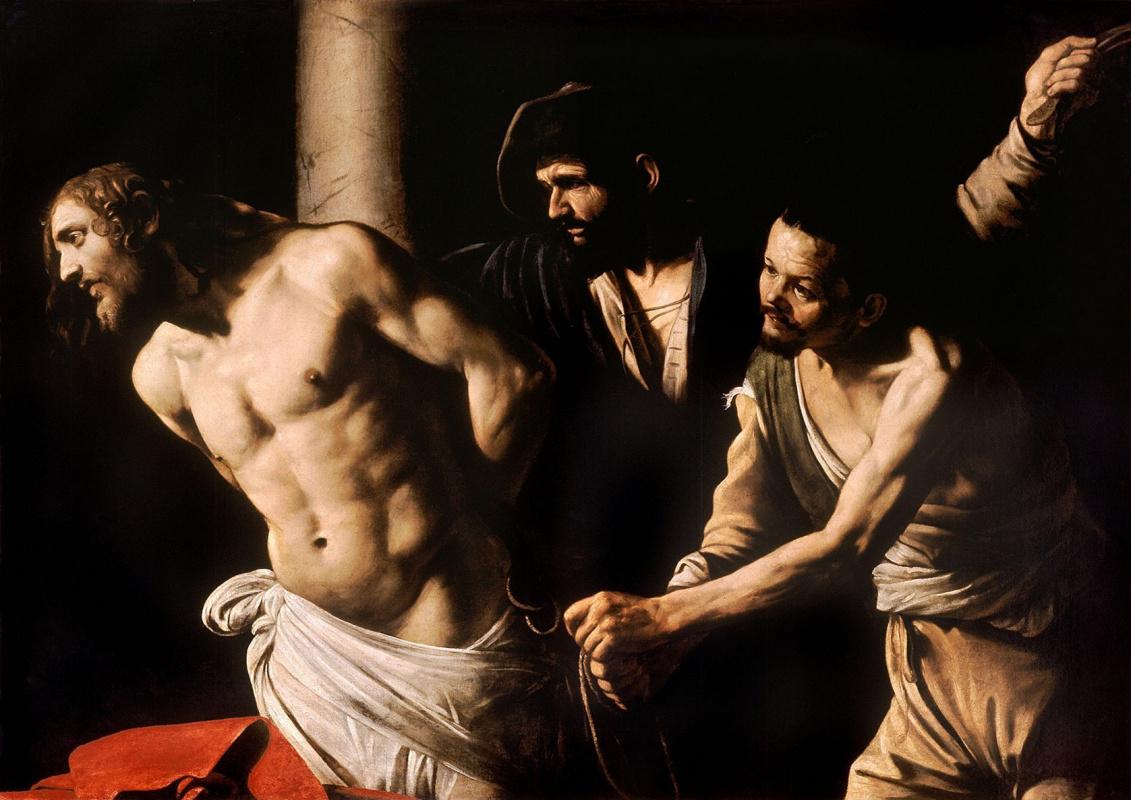 Michelangelo Merisi de Caravaggio. Christ at the column