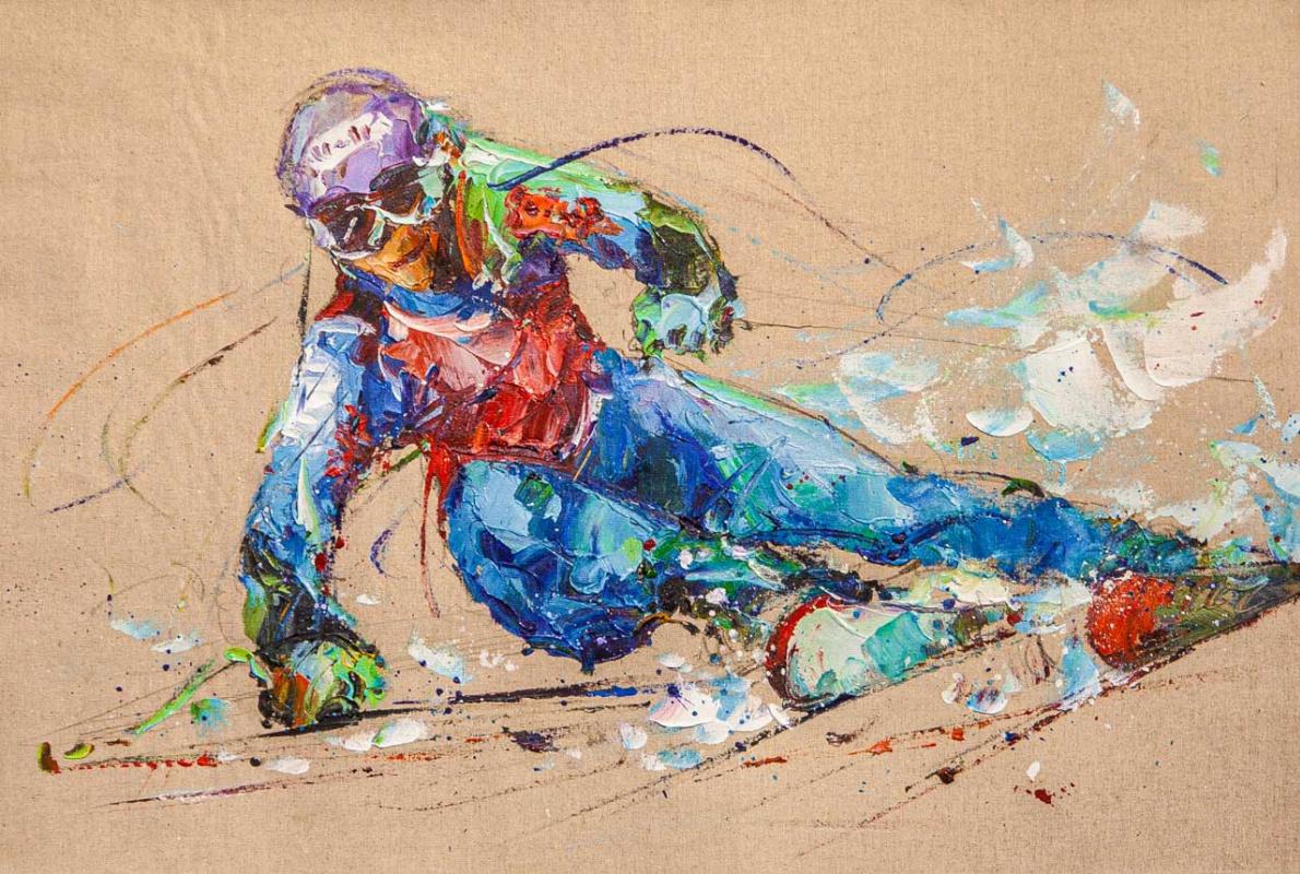 Jose Rodriguez. Горные лыжи. Скорость