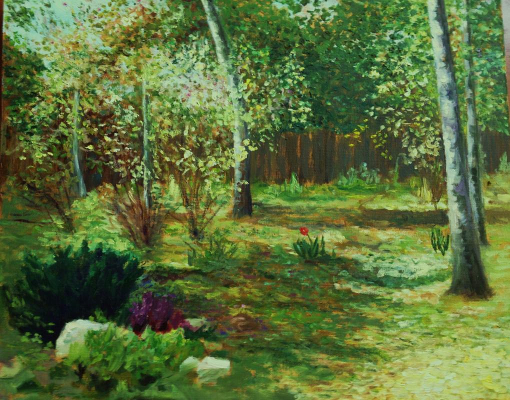 Suraga Alevtina. Spring in Glassine