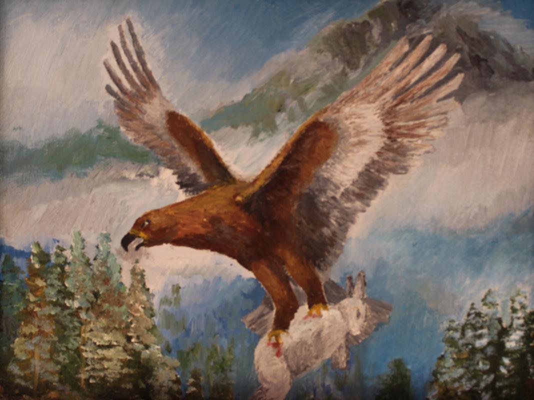 Sergey Vladimirovich Skorobogatov. Eagle