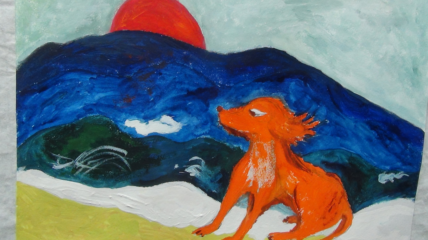 Yana Valerievna Chuprina. Dog and Sea