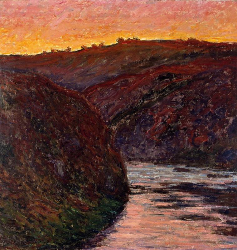 Долина Креза, закат