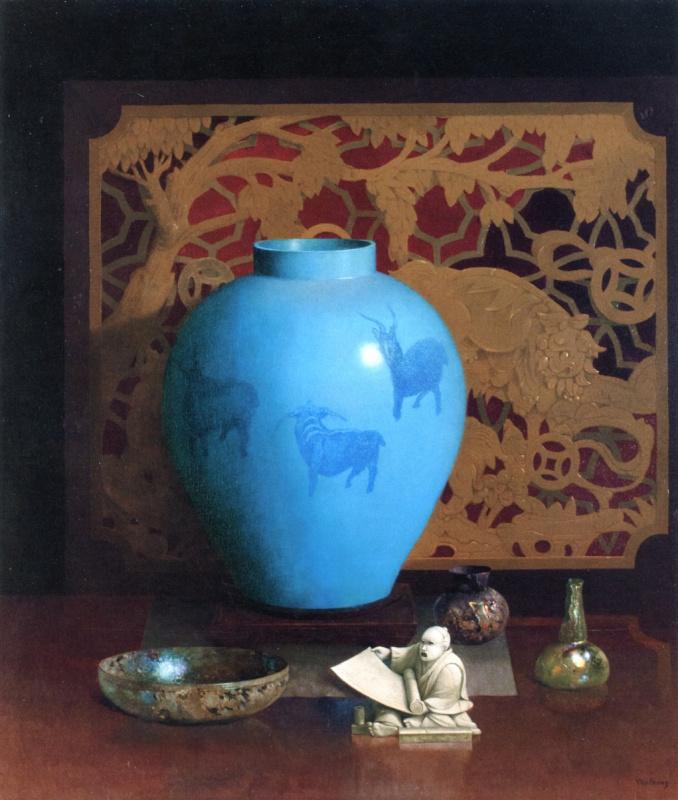Гарри Уилсон Вотраус. Голубая ваза