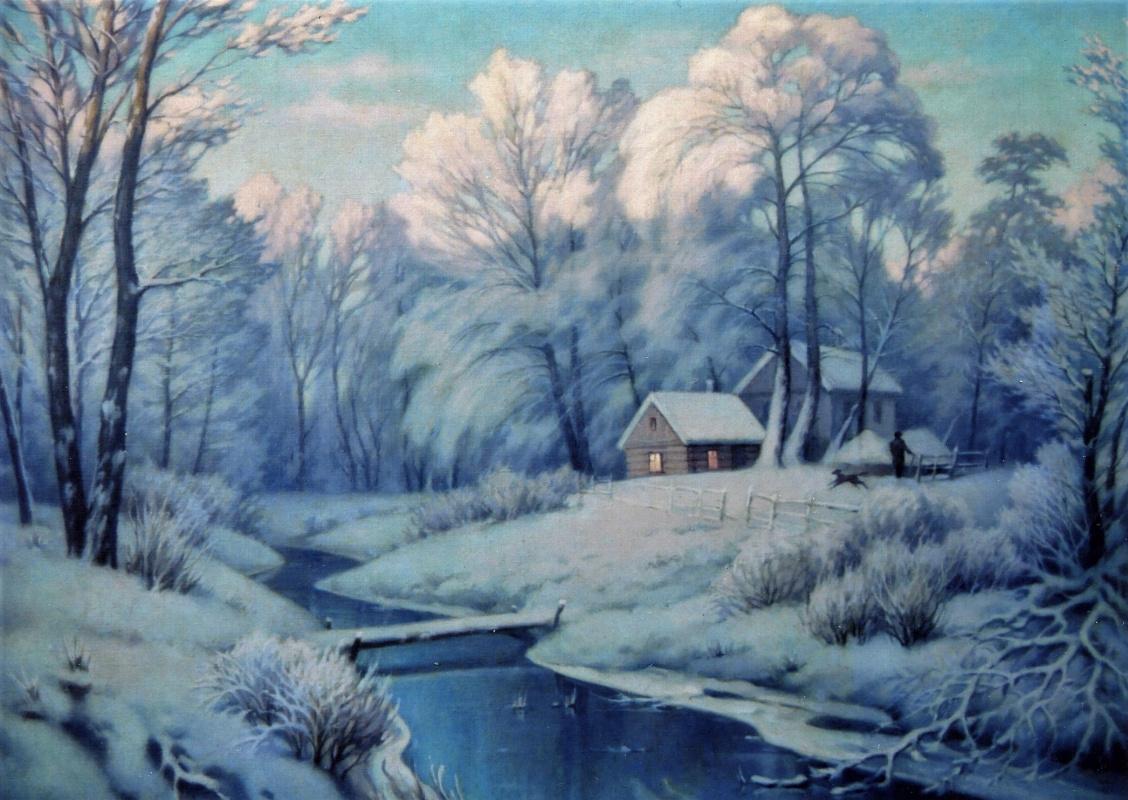 Александр Владимирович Кусенко. Winter evening
