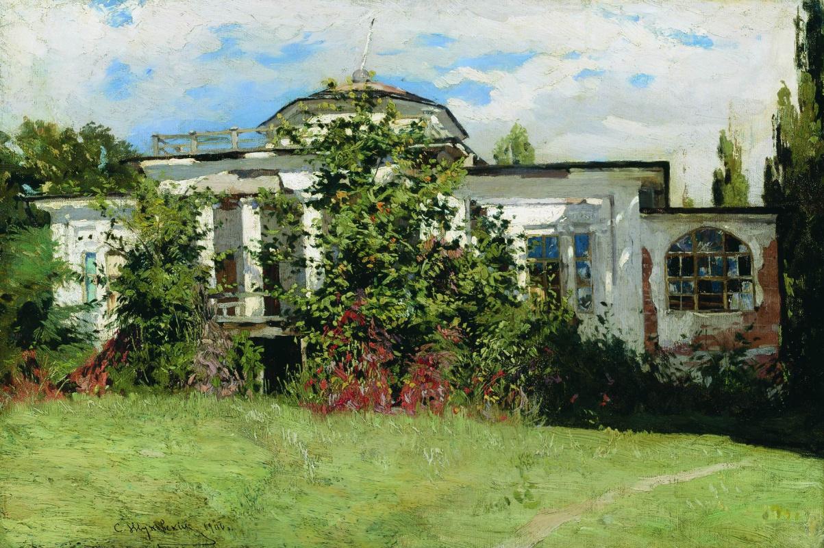 Станислав Юлианович Жуковский. Усадьба в зелени