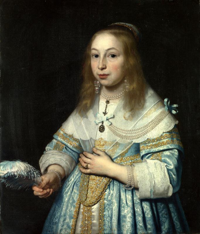 Бартоломеус ван дер Гельст. Портрет девушки