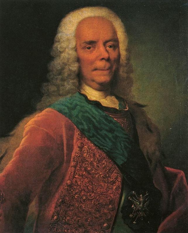 Георг-Христофор Гроот. Портрет князя В. В. Долгорукова