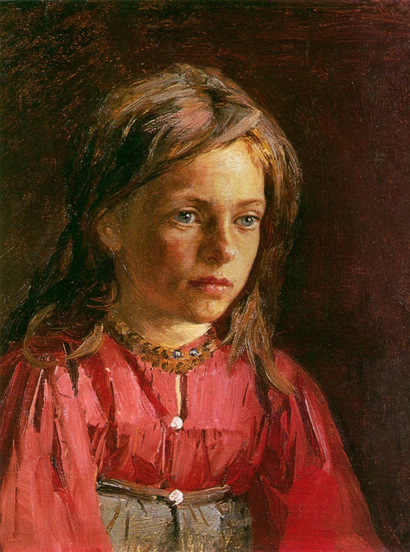 Philip Andreevich Malyavin. A peasant girl