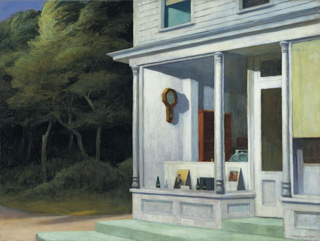 Edward Hopper. Seven in the morning