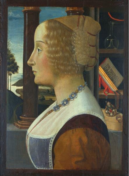 Domenico Girlandajo. Portrait of a Woman