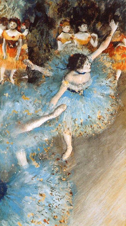 Эдгар Дега. Зеленая танцовщица