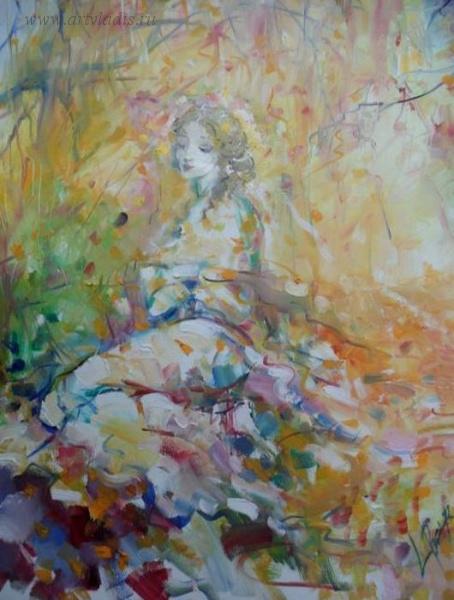 Larisa Baranova. Eyes charm--