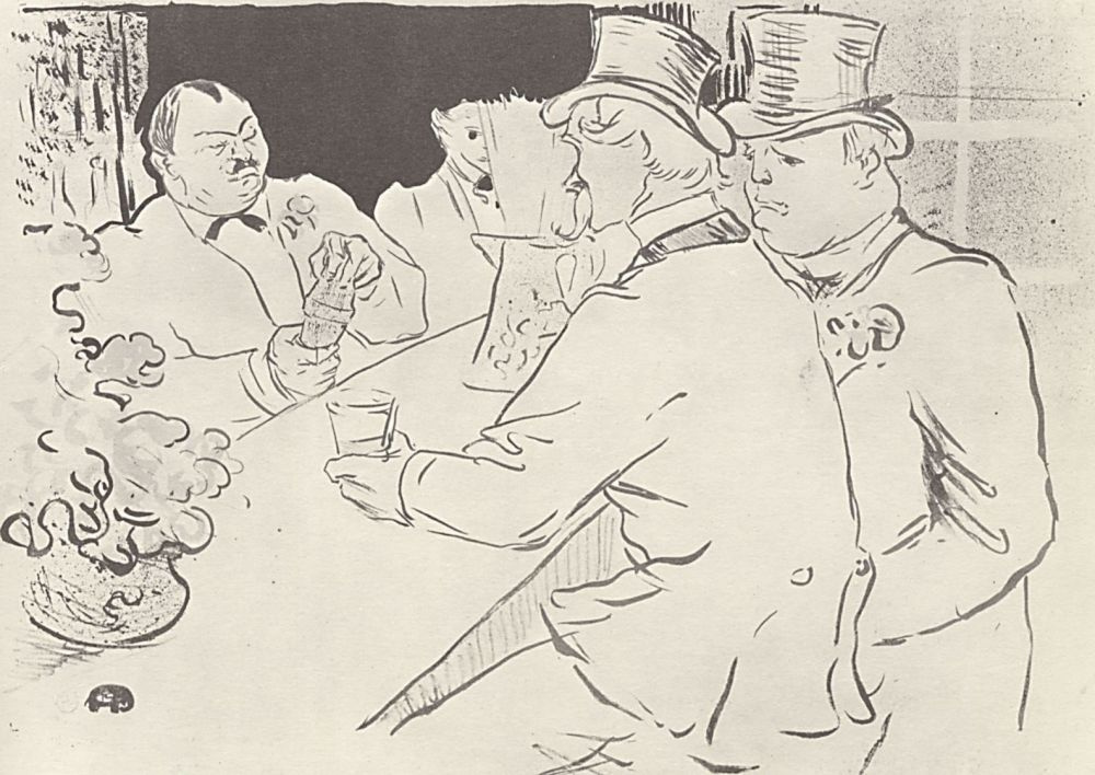 Henri de Toulouse-Lautrec. Irish and American bar