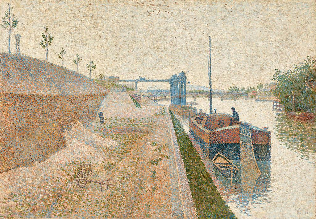 Paul Signac. Quai de Clichy