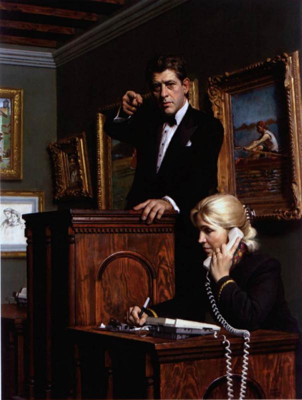 Даниэль Грин. Аукцион американской живописи